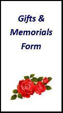 gift & memorial form